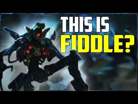 Praetorian Fiddlesticks NEW Skin Spotlight! | Season 9 Jungle Predator Gameplay