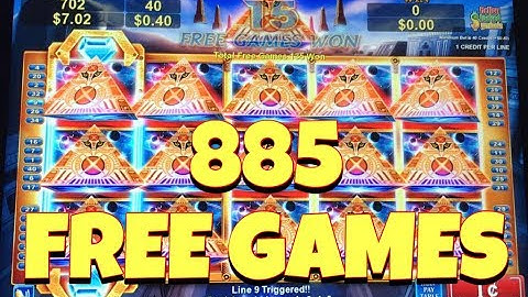 ***885 FREE GAMES*** 1000x BIG WIN BONUS - Fun Night in Grand Casino