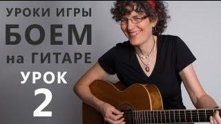 КАК ДЕЛАТЬ ГЛУШОК - Игра БОЕМ на гитаре. Урок 2 - www.GuitarMe.ru