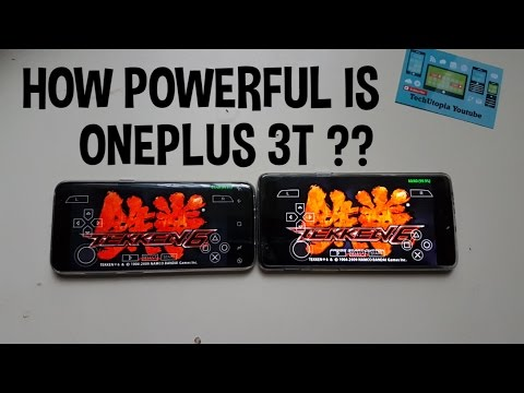 How POWERFUL is ONEPLUS 3T Smartphone? (quick comparison with Samsung S8 Exynos) PPSSPP