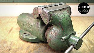 1942 York Vise Restoration | Bullet Vise Restoration