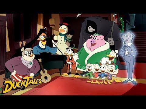 Launchpad's Christmas Carol | DuckTales | Disney Channel