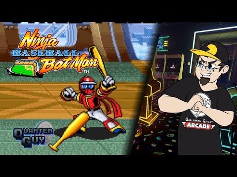 QG  The Arcade: Ninja Baseball Bat Man - The Quarter Guy