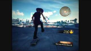 how to kill skate 2's own the spot (manny hop set)