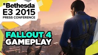 Fallout 4 Gameplay Reveal - E3 2015 Bethesda Press Conference