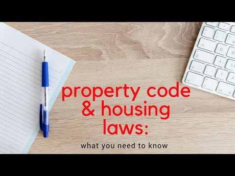 Property Code and Housing Laws |Property Management Education in Dallas/Fort Worth