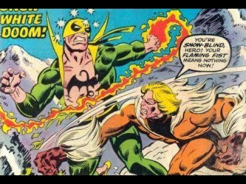 Original Iron Fist Comic Book Collection from the 1970s