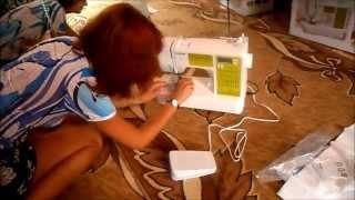 Швейная машина BROTHER ModerN 40E(Очередная покупка из интернет-магазина Ситилинк., 2013-07-24T15:33:27.000Z)