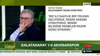 Pazar Akşamı Futbol 24 Şubat 2019 TEK PARÇA Serdar Ali Çelikler Galatasaray,Fenerbahçe,Beşiktaş,TS