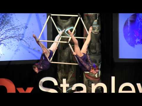 Hanging Cube – Synergy | Jason Waugh | TEDxStanleyPark