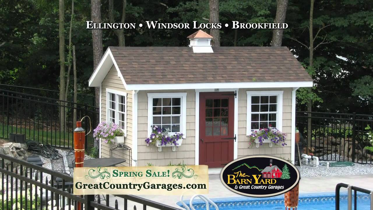TV Commercial - The Barn Yard & Great Country Garages