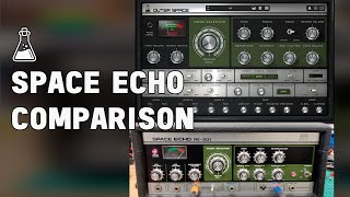 Space Echo RE-201 vs AudioThing Outer Space - Hardware vs Plugin Comparison
