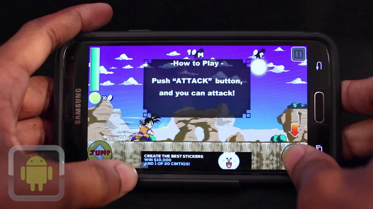 This Android Action Game Is Made For All Dragon Ball Z
