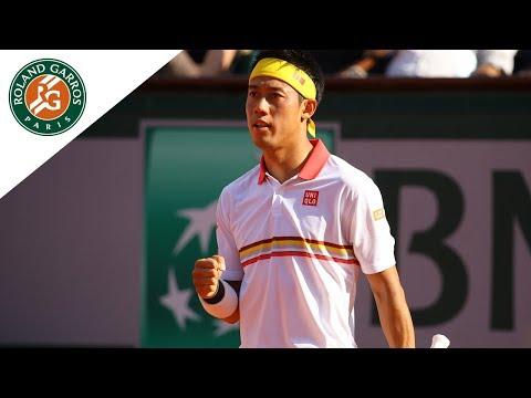 Kei Nishikori vs Gilles Simon - Round 3 Highlights I Roland-Garros 2018