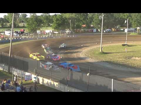 Late Model Heat Race #3 at Crystal Motor Speedway on 07-07-2018