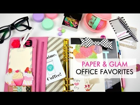The Glam Office   Planner & Office Favorites