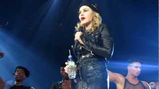 Madonna - 2nd Night Speech - MDNA Tour - Washington DC 9/24/12