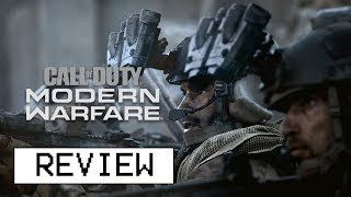 Call Of Duty: Modern Warfare Multiplayer Review (Video Game Video Review)