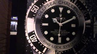 Rolex Deep Sea Challenge Exhibition