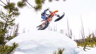 Shredding the Birthplace of Snowbiking | Powder Hounds E1