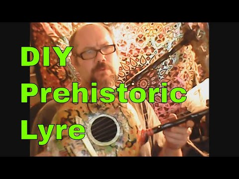 DIY Prehistoric Gourd Lyre - Build Your Own Nyatiti African and Babylonian Musical instrument