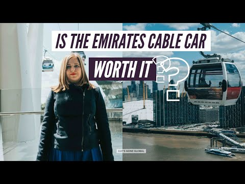 Is the Emirates Cable Car Worth It? | London Travel Guide