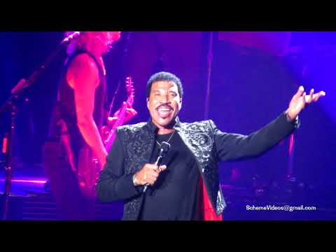 Lionel Richie - FANCY DANCER / SWEET LOVE / LADY - Madison Square Garden, NYC - 8/19/17
