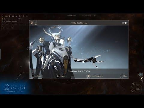 Endless Space 2 Brand New Game Brand New Start Brand New Custom Civilization