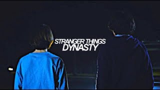 ► stranger things | dynasty [+multicouple]