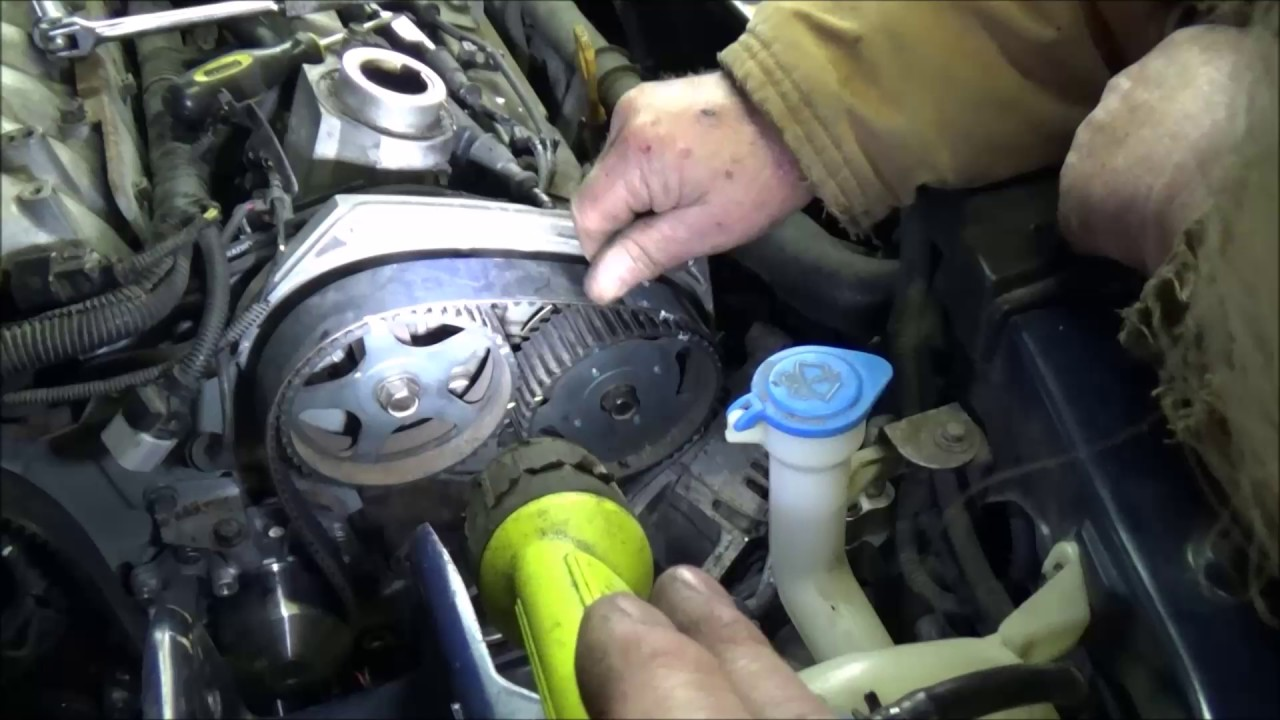 3 5L KIA Coolant Pump and Timing Belt Replacement