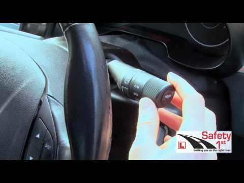Secondary Controls - Safety 1st Driving School Dublin