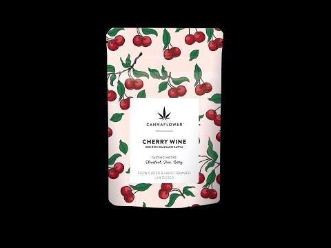 cherry wine cbd flower 3 5 grams 18 00