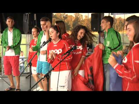 Opening and Karaoke. Cup-Denmark 2012