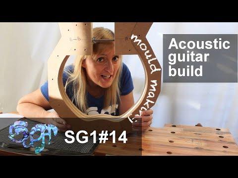 SuGar SG1 acoustic guitar build part 14:  Making the mould