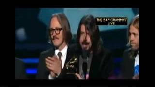 Dave Grohl's Acceptance Speech