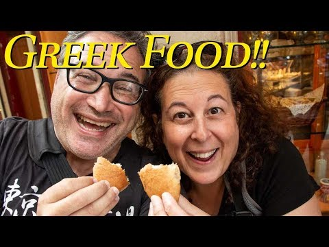 Athens Food Tour - We eat all the best Greek Food in Athens Greece