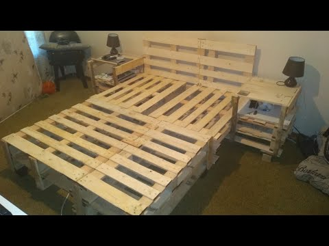 how-to-build-a-bed-out-of-pallets!!!