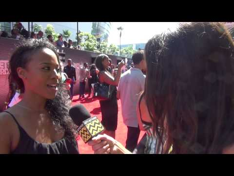 Stephanie Charles  BET AWARDS Red Carpet   AfterBuzz TV