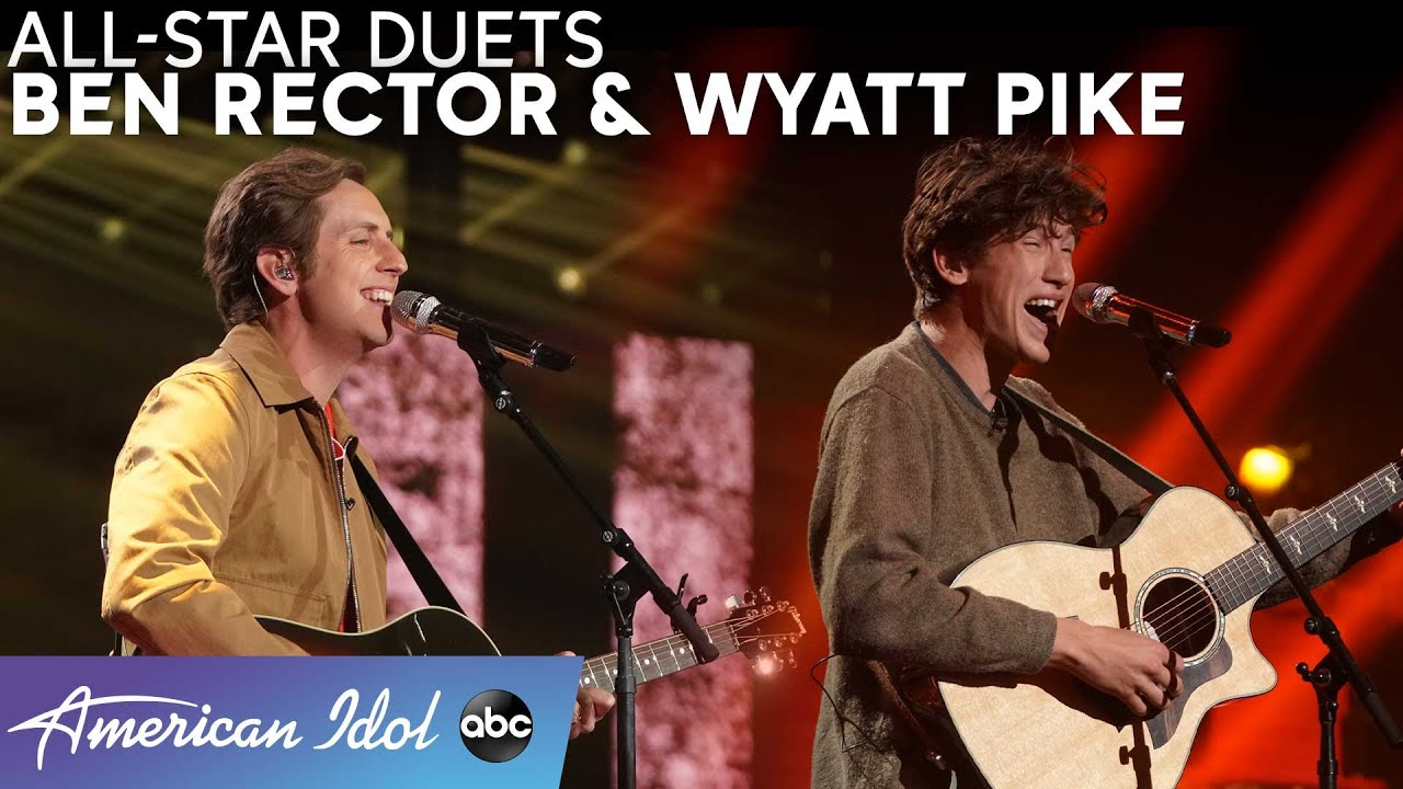 "Wyatt Pike Puts His Spin On Tate McRae Song + ""Brand New"" Duet With Ben Rector! - American Idol 2021"