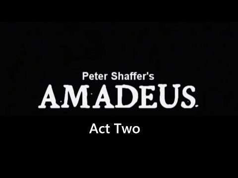 Amadeus Stage Production - Act Two