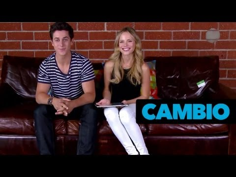 'Grown Ups 2' Couch Sesh With Halston Sage and David Henrie  Cambio