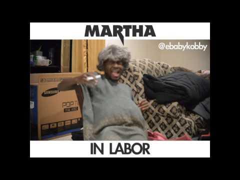MARTHA IN LABOR - Ebaby Kobby (African Comedy)