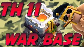 Clash Of Clans | NEW TH11 WAR & TROPHY BASES (ANTI WITCH)