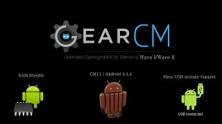[GearCM] Optimized CyanogenMod 11 for Samsung Wave I/II (11-08-2015)
