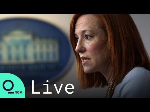 LIVE: White House Press Secretary Jen Psaki Holds News Confe