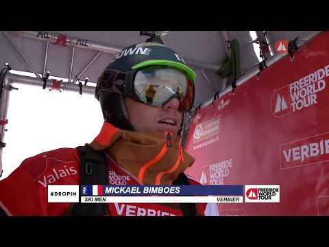 Winning run Mickael Bimboes - FWT18 Xtreme Verbier Switzerland