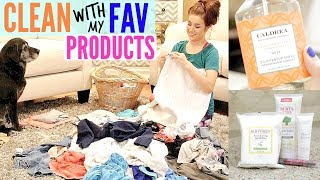 AFTER DARK CLEAN WITH ME WITH FAV CLEANING PRODUCTS | CLEANING MOTIVATION 2017