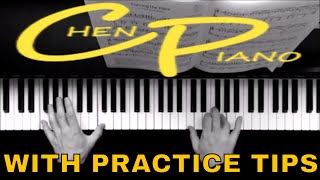 Forcing the pace - Christopher Norton - Grade 7 Piano  with PRACTICE TIPS  ABRSM 2017/18 C2