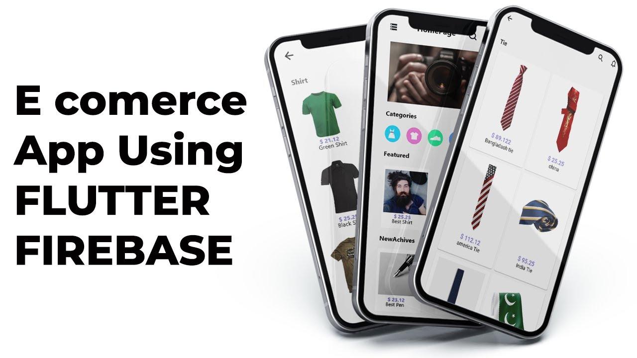 E Commerce App Part 4 Setup Firebase in App