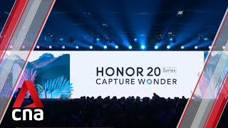 Huawei's Honor launches new flagship smartphones